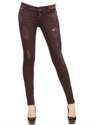 Koral Destroyed Skinny Stretch Denim