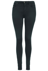 Topshop Moto Teal Leigh Jeans