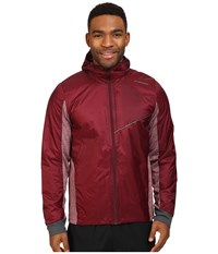 Brooks Lsd Thermal Jacket Root Heather Root Men's Coat Red
