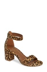 Coconuts By Matisse Sashed Sandal Tan Leopard Print