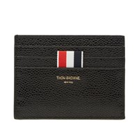 Thom Browne Note Compartment Card Holder Black
