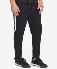 Polo Ralph Lauren Men's Big And Tall Knit Cotton Track Pants Black