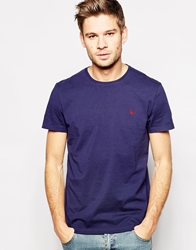 Jack Wills T Shirt With Pheasant Logo Navy