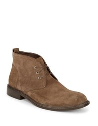 Black Brown Suede Chukka Boots Tan