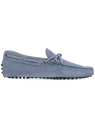 Tod's Classic Boat Shoes Blue