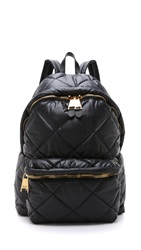 Moschino Oversized Quilted Backpack Black