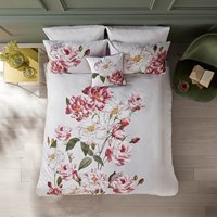 Ted Baker Iguazu Duvet Cover Grey Green Pink White