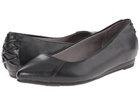 Lifestride Qute Black Vinci Women's Flat Shoes