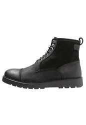 Kickers Conysse Laceup Boots Black