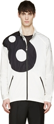 Moncler Gamme Rouge White Lucky '8' Hooded Jacket