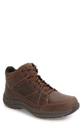 Dunham Men's Simon Dun Waterproof Boot Brown Leather