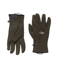 Outdoor Research Flurry Gloves Earth Extreme Cold Weather Gloves Brown