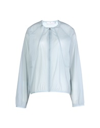 Adidas By Stella Mccartney Jackets Sky Blue