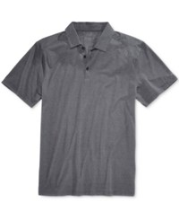 Fox Men's Rookie Trudri Graphic Print Logo Polo Pewter