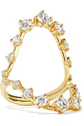 Fernando Jorge Brilliant 18 Karat Gold Diamond Ring 6