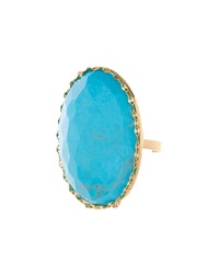 Lana Electra 14K Gold And Turquoise Ring