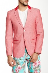 Wd.Ny Solid Blazer Red