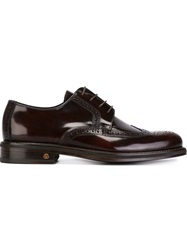 National Standard Classic Brogues Red