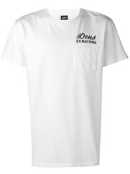 Deus Ex Machina Logo T Shirt White