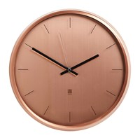 Umbra Meta Wall Clock Copper