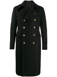 Tagliatore Engraved Button Double Breasted Coat 60