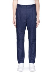 Nanamica Pleated Overlay Pants Blue