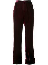 F.R.S For Restless Sleepers Basic Piping Pajama Silk Cupro Viscose M Pink Purple