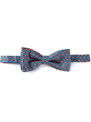 Fe Fe Fefe Tribal Print Bow Tie Blue