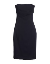 Trou Aux Biches Short Dresses Dark Blue