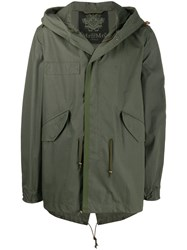 Mr And Mrs Italy Classic Raincoat Green