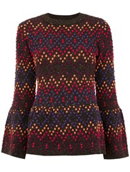 Cecilia Prado Eudora Printed Top Multicolour