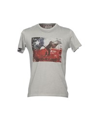 Yes Zee By Essenza T Shirts Grey