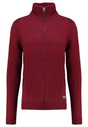 Petrol Industries Cardigan Ligth Burgundy Bordeaux