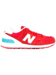New Balance Wl574 Sneakers Red