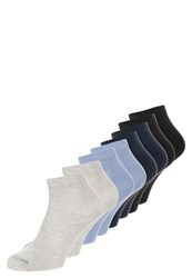 S.Oliver 8 Pack Socks Stone Mix Grey