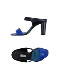 Paul Smith Footwear Sandals Women Dark Blue