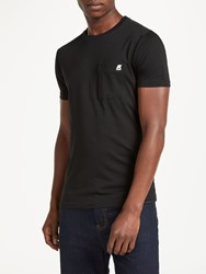 K Way Elias Pocket T Shirt Black