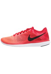 Nike Performance Flex 2016 Run Lightweight Running Shoes University Red Black Bright Crimson White