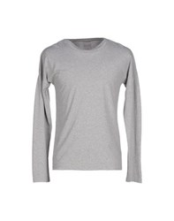 Adidas Slvr Topwear T Shirts Men Grey