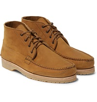 Quoddy Washed Leather Chukka Boots