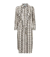 Melissa Odabash Snake Print Shirt Dress Female