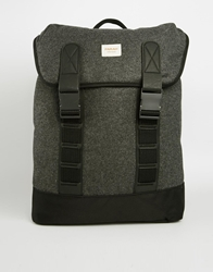 Farah Vintage Melton Backpack Grey