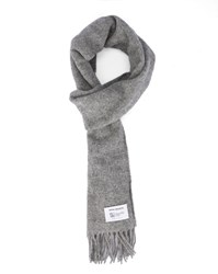 Norse Projects Grey Lambswool Scarf