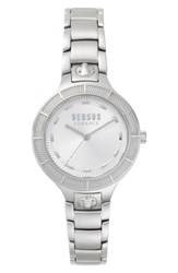 Versus By Versace Claremont Bracelet Watch 32Mm Silver