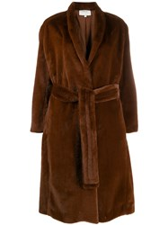 Vince Soft Coat Brown