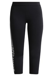 Under Armour Tights Black White