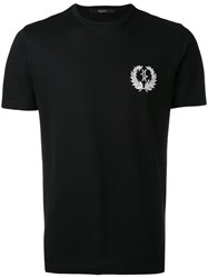 Billionaire Embroidered Logo T Shirt Men Cotton L Black
