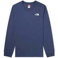 The North Face Long Sleeve Simple Dome Tee Blue