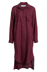 Billy T Maxi Shirtdress Red Baby Buffalo And Studs