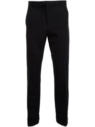 Atm Anthony Thomas Melillo Ponte Slim Fit Trousers Black